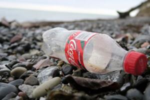 Coca cola bouteille en plastique